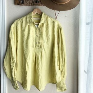 NWT We The Free Button Down Top Size XS